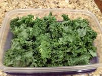 Washed Kale