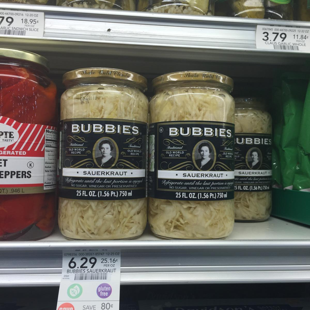 Bubbies Saurkraut